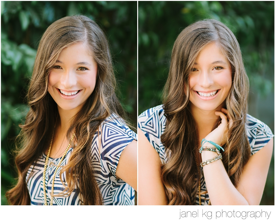 Elizabeth's gorgeous senior portraits with Janel KG Photography in downtown Sacramento