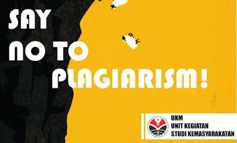 Katakan Tidak untuk Plagiarisme