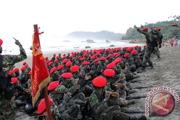 Para prajurit Komando Pasukan Khusus Kopassus