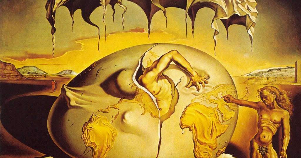 Geopoliticus Child Watching The Birth Of The New Man Salvador Dali