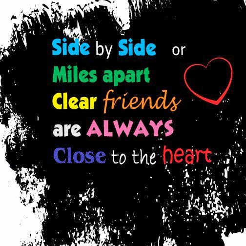 Quotes For Best Friends Who Live Far Apart : Touching quotes for friends best friend forever