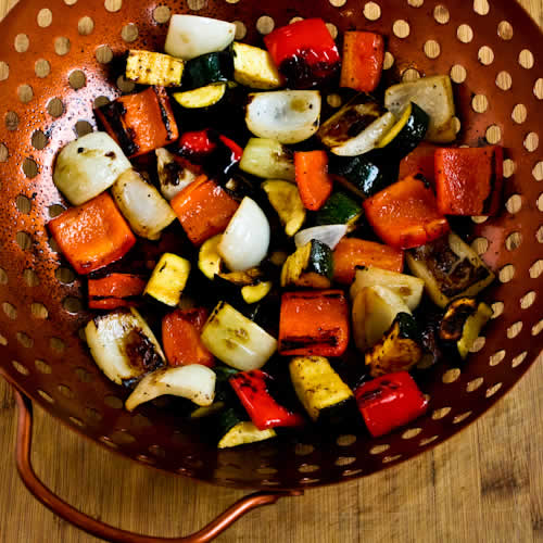 World&#39;s Easiest Grilled Vegetables