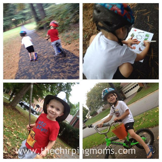 Fall Fun Nature Hunt (Free Printable) II The Chirping Moms