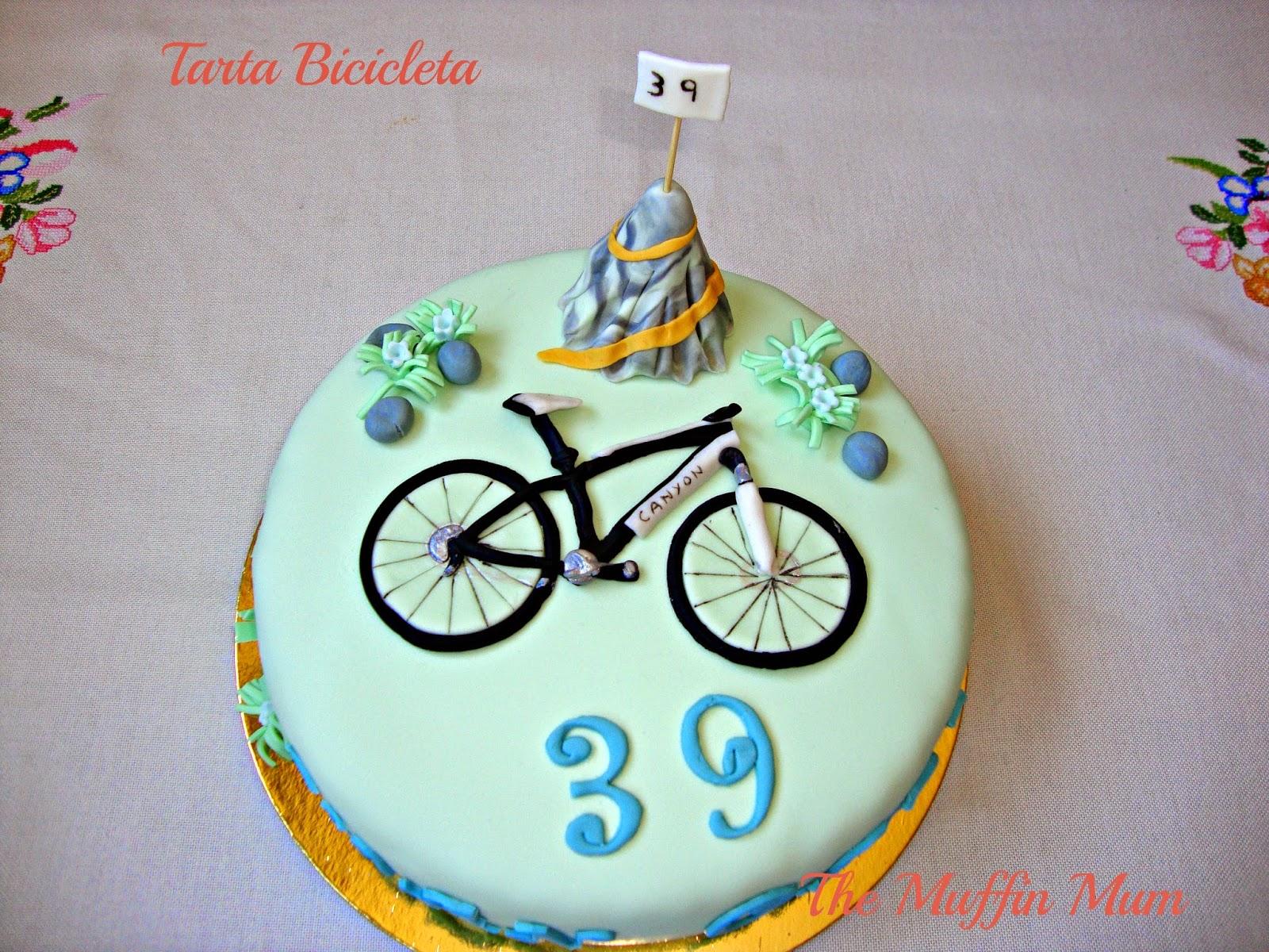 Tarta Bicicleta de montaña