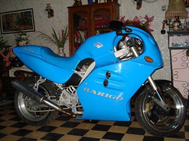 Barigo Onixa Blue Motorcycle Supermono