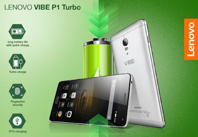 Lenovo Vibe P1 Turbo, high capacity battery, fingerprint sensor, Octa-Core, Qualcomm Snapdragon, new Android smartphone,