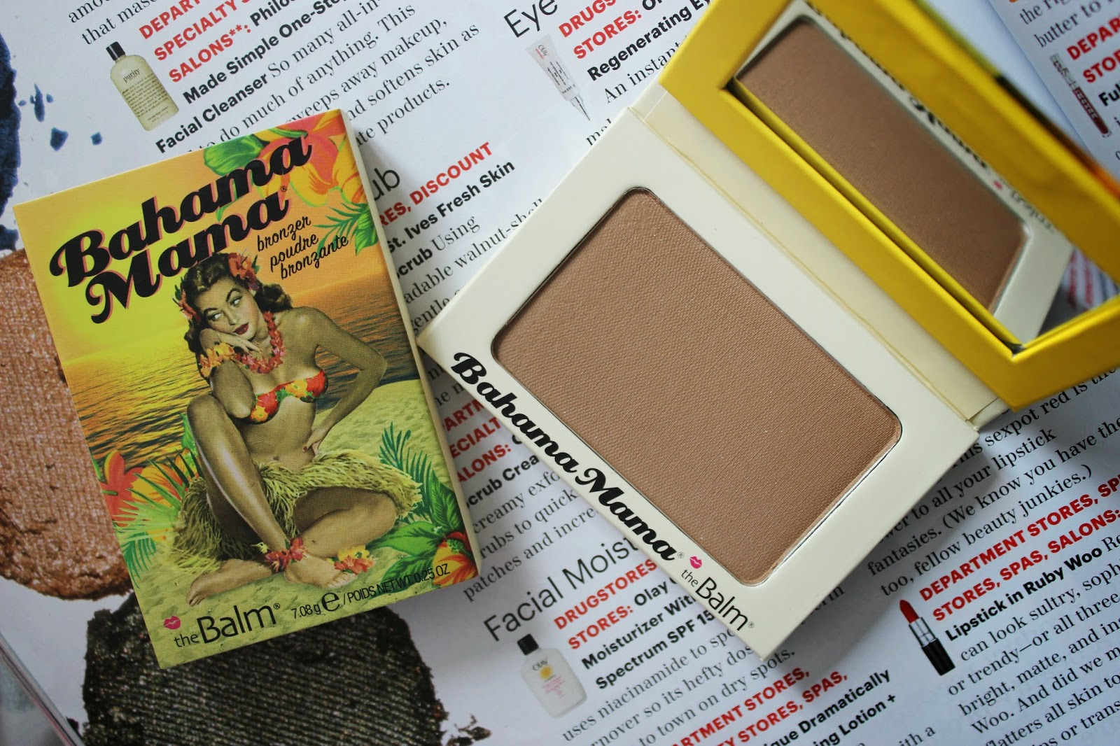 The Balm Bahama Mama Bronzer Review L'amour Josie