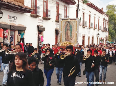 Celebration of the Virgin of Guadalupe in Pátzcuaro