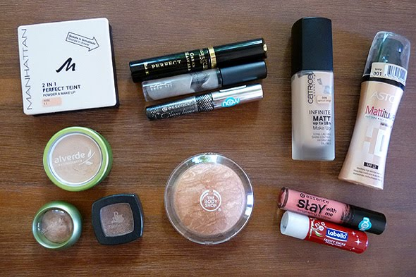 April Favoriten 2011 Make-Up