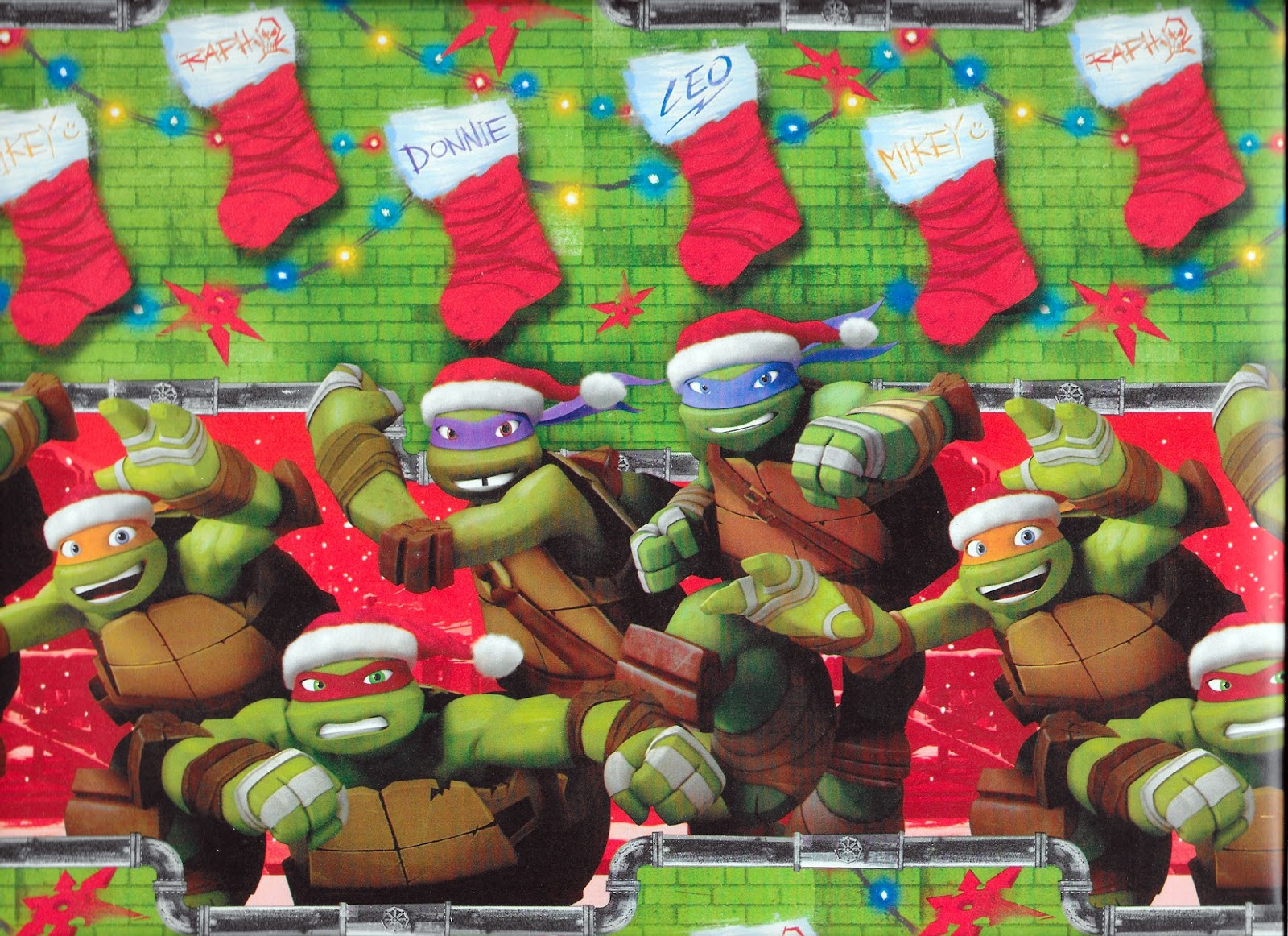 The Sewer Den: 24 Days of Turtle (2014): Day 9 (Gift Wrap Bundle)