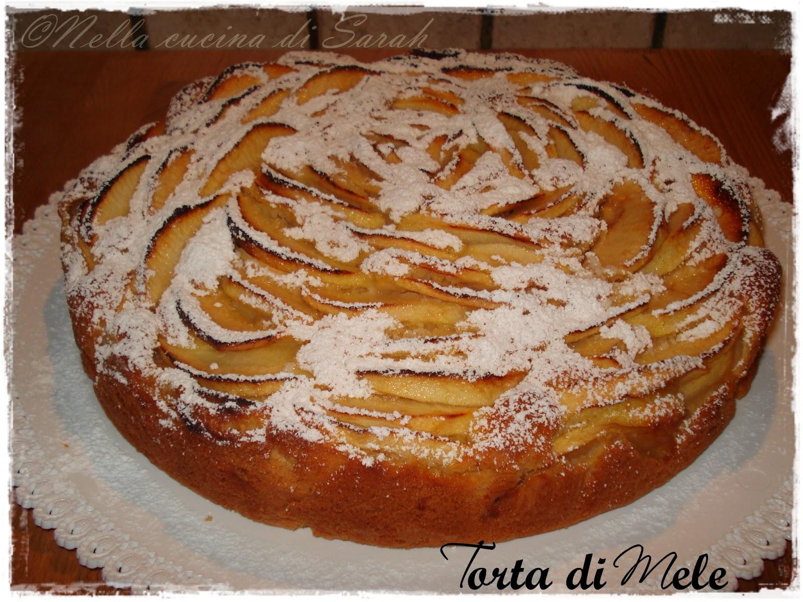mamma facciamo una torta di mele? ~ torta di mele