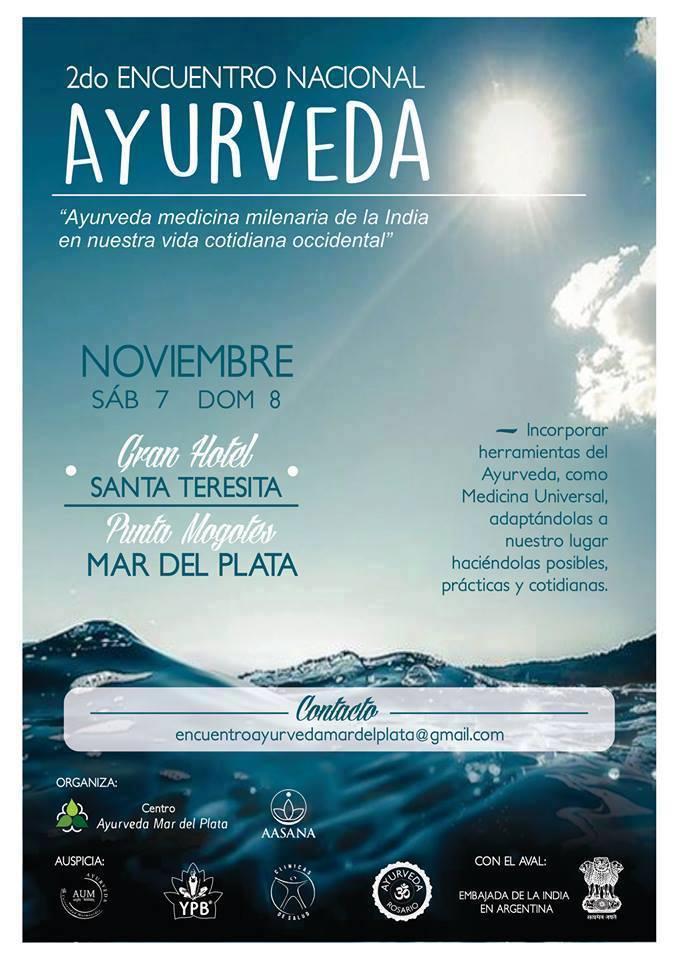 2° Encuentro Nacional de Ayurveda 2015