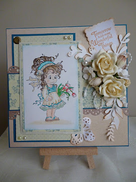 See below for a selection of my first cards, that I posted on my blog