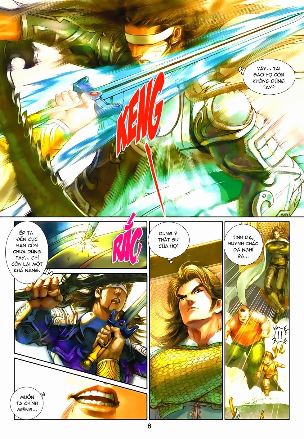 Thần Binh Tiền Truyện 4 - Huyền Thiên Tà Đế chap 9 - Trang 8