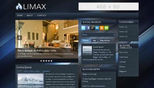 Limax - Free Blogger Theme