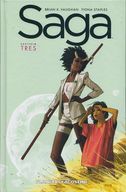 Saga de Brian K. Vaughan y Fiona Staples, edita Planeta Deagostini comic culebrón intergalactico
