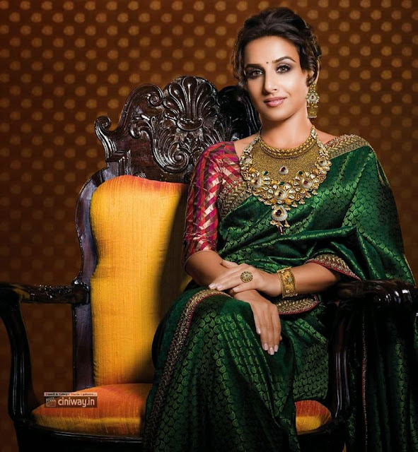 Vidya Balan Photoshoot for Ranka Jewellers