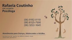 Psicóloga Rafaela Coutinho