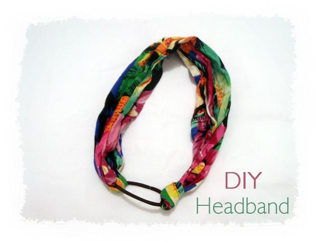 diy, faça voce mesmo uma headband ou tiara