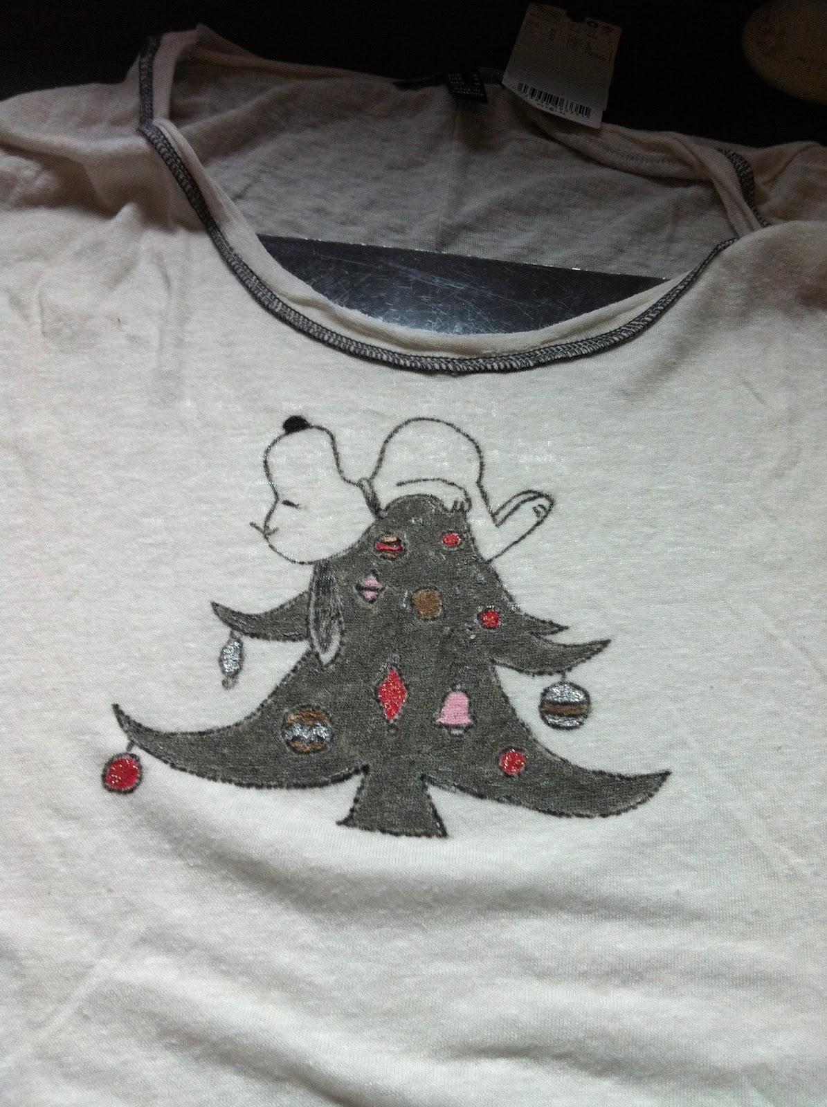 2onyogamats snoopy weihnachtsbaum diy nette bilder diy - Weihnachtsbaum schablone ...