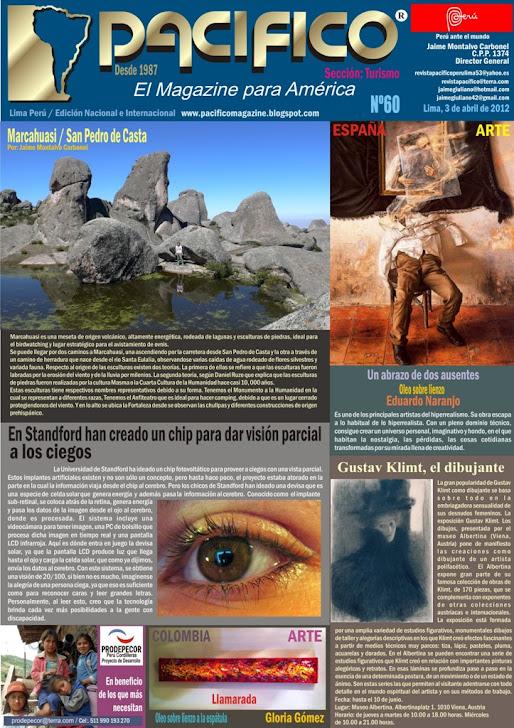 Revista Pacífico Nº 60 Turismo