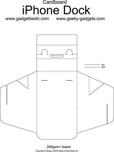 Como hacer un dock para tu iPhone