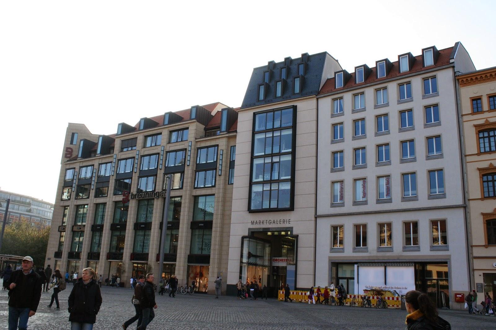 Marktgalerie wurde von 2002 bis 2005 erbaut