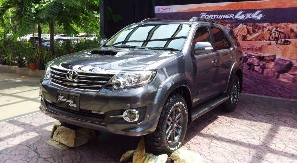 Toyota Fortuner Diesel 4x4 Telah Meluncur