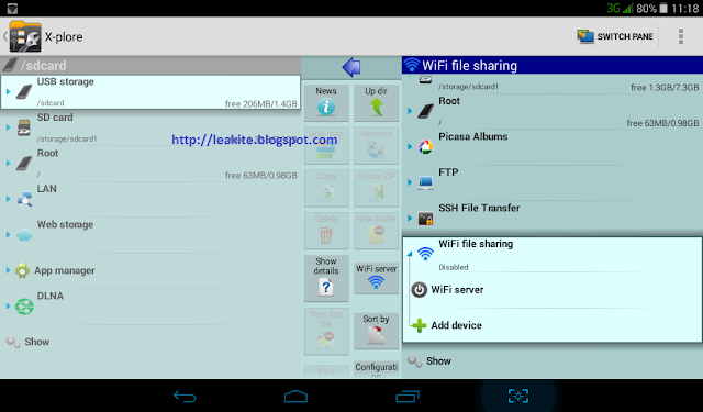 [X-plore] Manage files on android device via web browser on PC or mobile