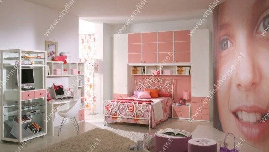 wonderful pink bedroom furniture set for your stylish house