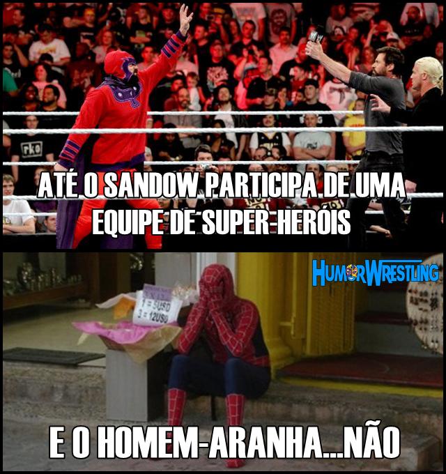 Sandow, melhor que homem-aranha!
