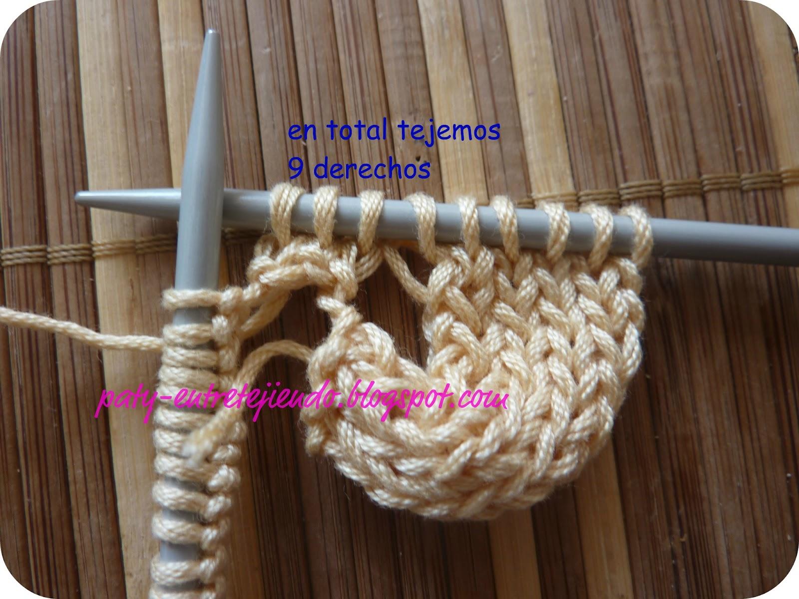Вязание азиатского колоска для начинающих 61