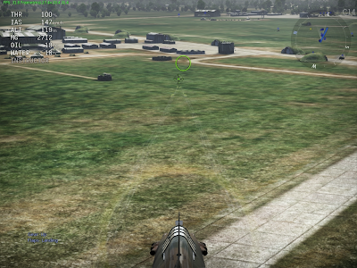 War Thunder - Guns Targeting 800m