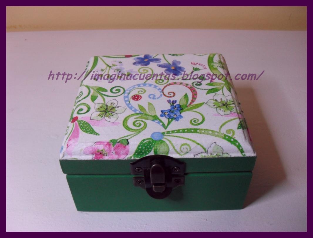 Imagina cuentas cajas decoradas con decoupage - Decorar cajas de madera con servilletas ...
