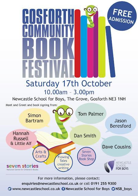 Gosforth Book Festival Poster