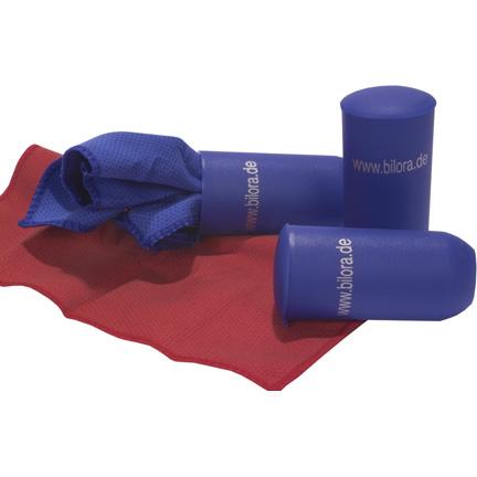 Putsduk, tillverkad av mikrofiber, med skyddsask