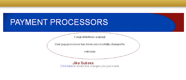 cara menambahkan payment processot adclick xpress