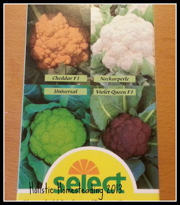 select cauliflowers