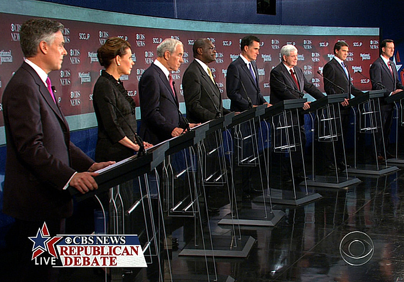 Republican CBS News-National Journal Presidential Debate 11/12/11 Spartanburg, South Carolina FULL VIDEO TEXT TRANSCRIPT