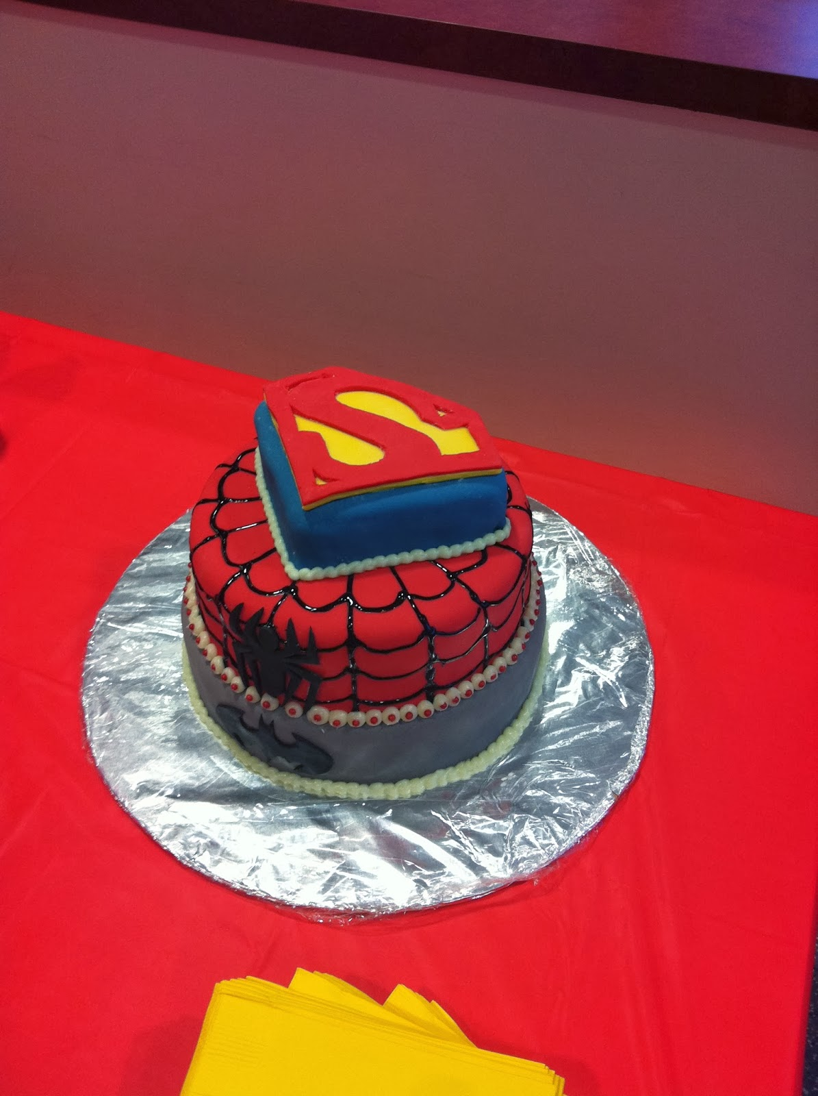 Custom Superhero And Cake Ideas and Designs