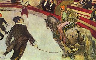 Au cirque Fernando, l'écuyère' - Henri de Toulouse-Lautrec