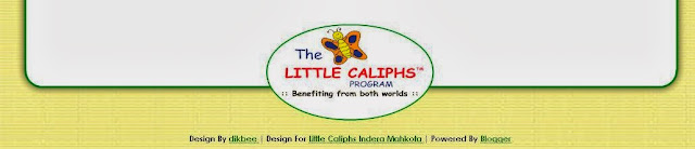 Blog Design : Little Caliphs Indera Mahkota