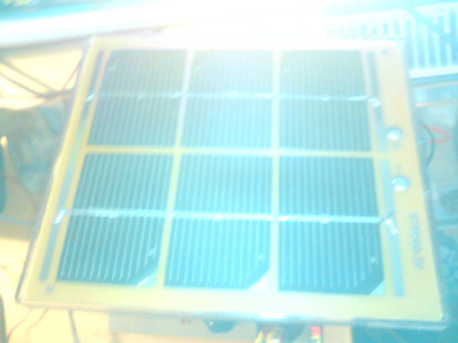 Arduino and solar cells vanceance