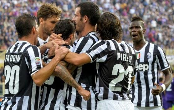 Prediksi Juventus vs Fiorentina � Liga EUROPA 14 Maret 2014