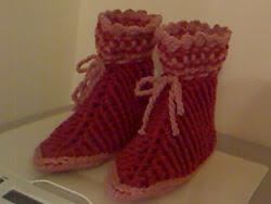 botas em lã