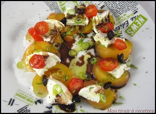 salade tomate ananas