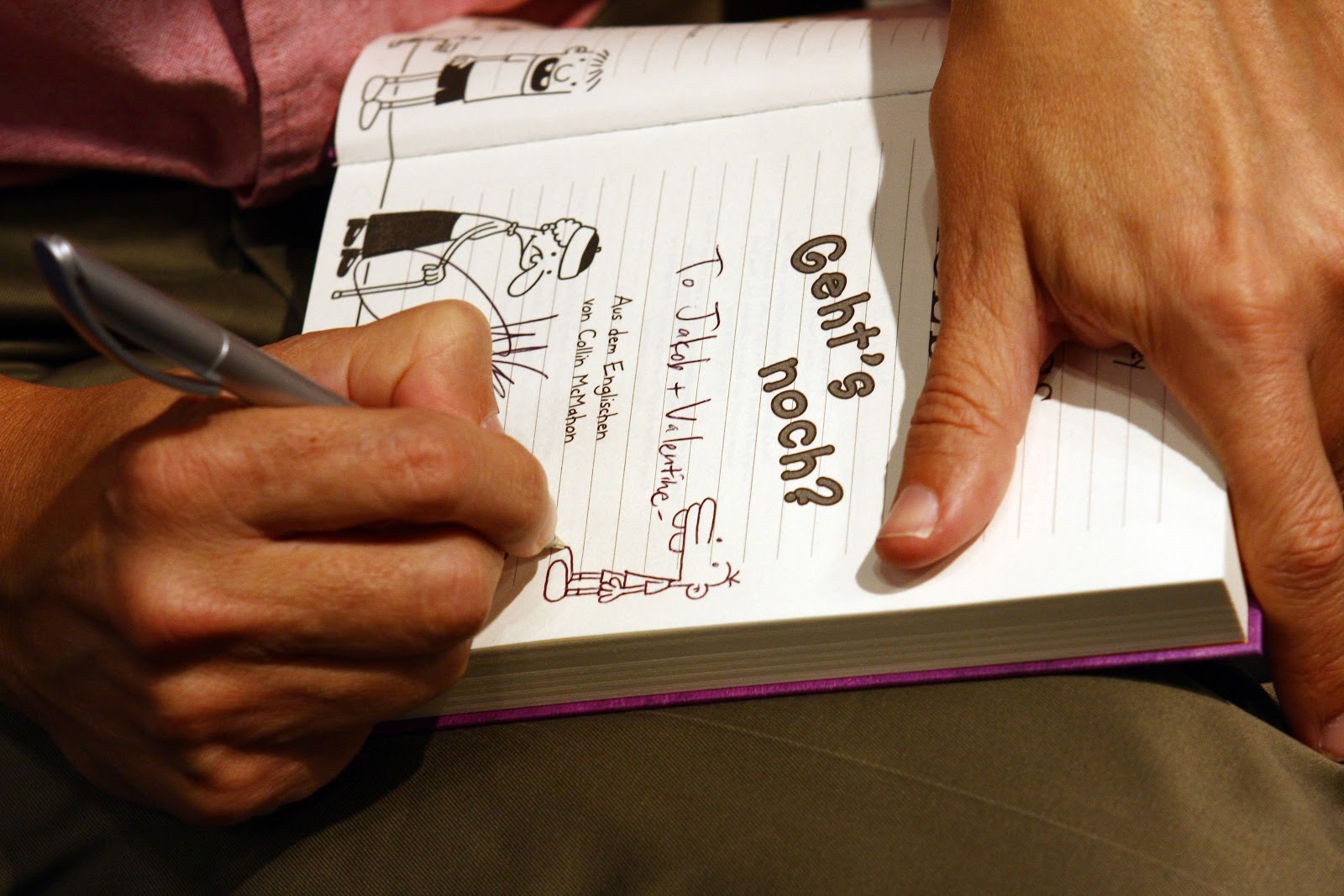 Buchmesse 2012 – interview mit jeff kinney