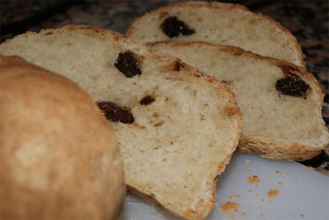 Recetas de pan de pasas
