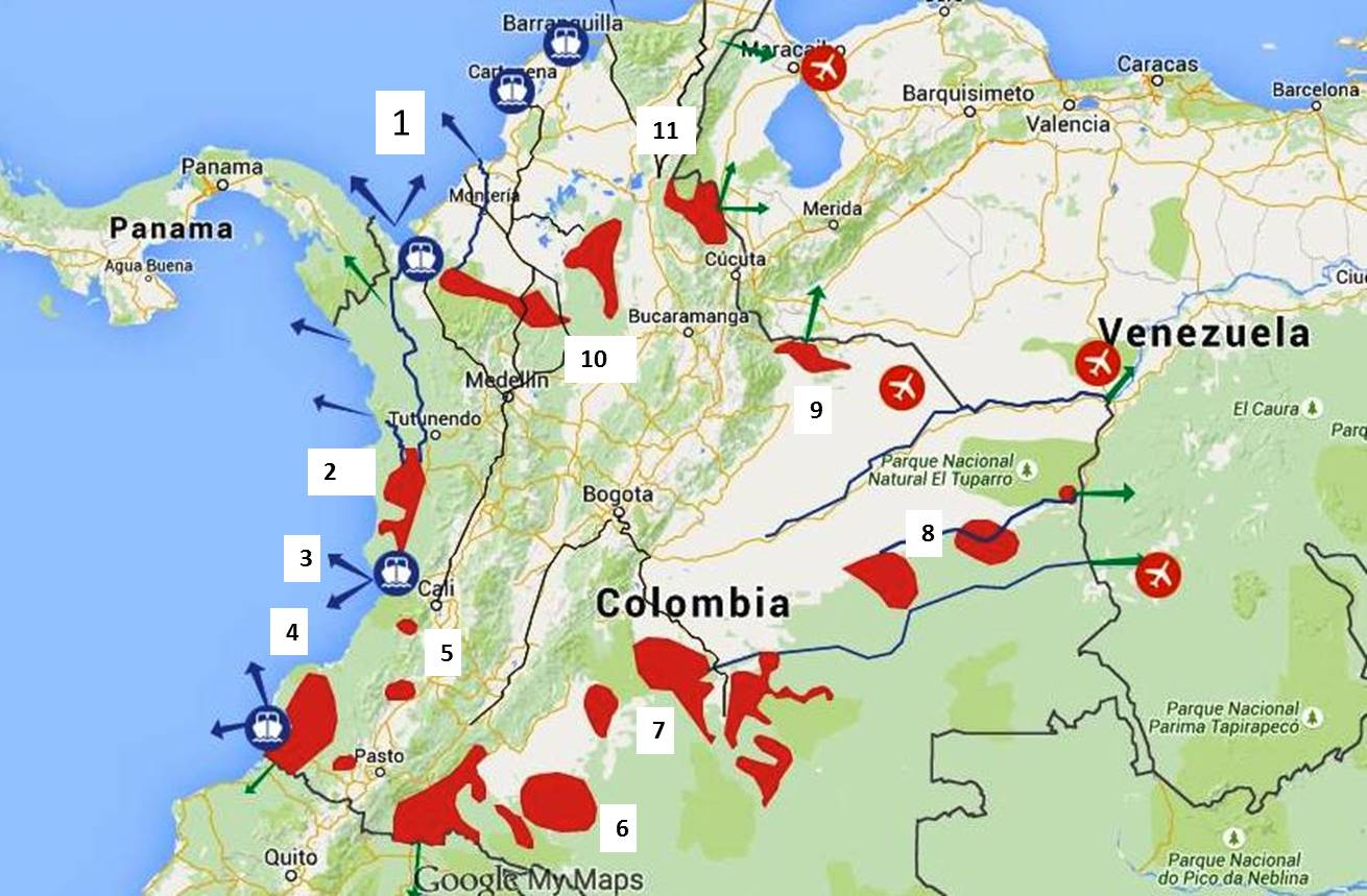 Is Colombia Safe  Update TravelswithMitzi - Map us embassy bogota