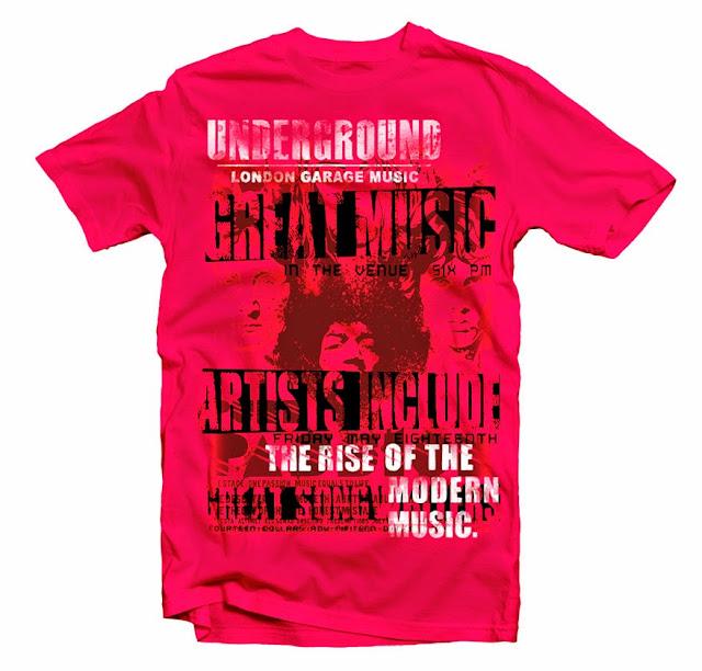music tshirt designs
